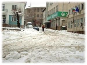 ивайловград, бедствено положение, сняг