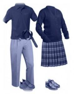 униформа, училище, ученици