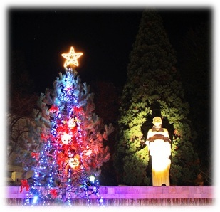 нова година в ивайловград, 2010